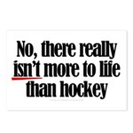 More to life, hockey Postcards (Package of 8)