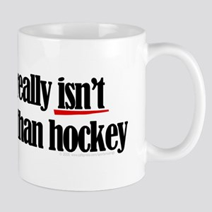 More to life, hockey Mug