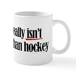 More to life, hockey Mug