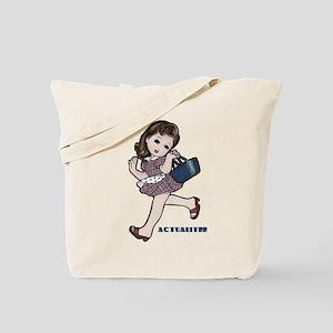 GIRL/basket Tote Bag