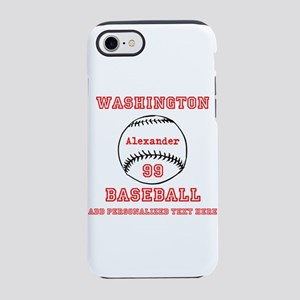 Baseball Personalized iPhone 7 Tough Case