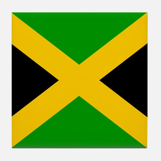 Jamaican Tile Coaster