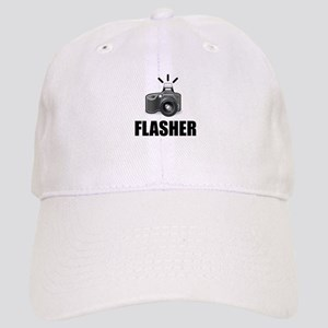Flasher Camera Photographer Baseball Cap
