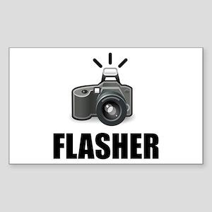 Flasher Camera Photographer Sticker
