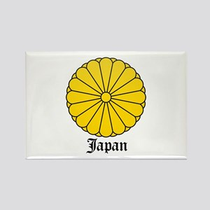 Japanese Coat of Arms Seal Rectangle Magnet