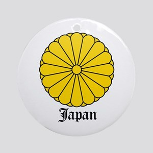 Japanese Coat of Arms Seal Ornament (Round)