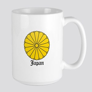 Japanese Coat of Arms Seal Large Mug