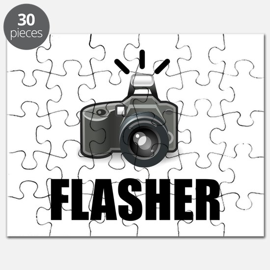Flasher Camera Photographer Puzzle