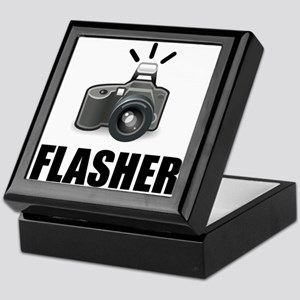Flasher Camera Photographer Keepsake Box
