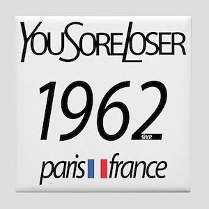 YSL Humor Tile Coaster