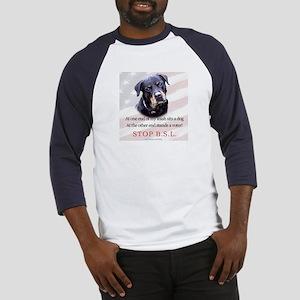 Rottweiler Political Baseball Jersey