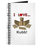 I Love Kubb Journal