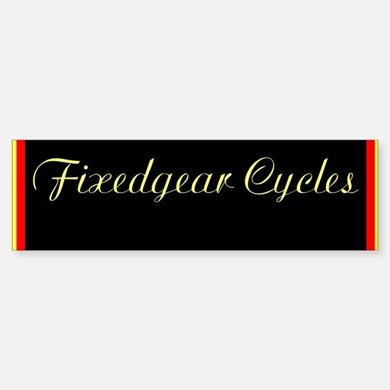 Single speed cycles fat downtube Sticker(2 needed)