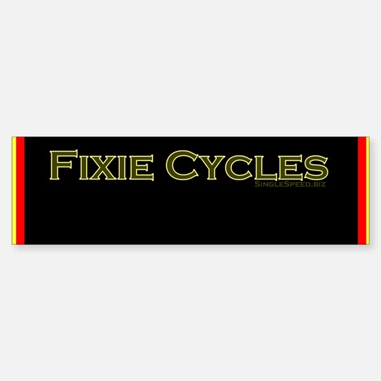 Single speed cycles alloy frame Sticker (2 needed)