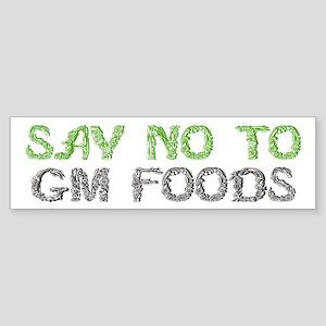 GMO Bumper Sticker