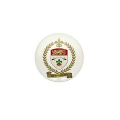 DESRUISSEAUX Family Crest Mini Button (10 pack)