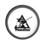 Powertude B/W Wall Clock
