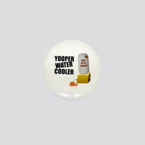 Yooper Water Cooler Mini Button