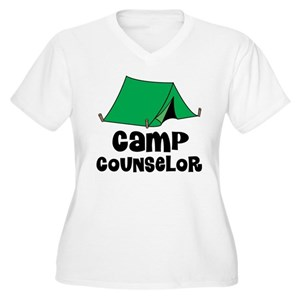 5b0d2ab7cbd4 Camp Counselor Women s Plus Size T-Shirts - CafePress