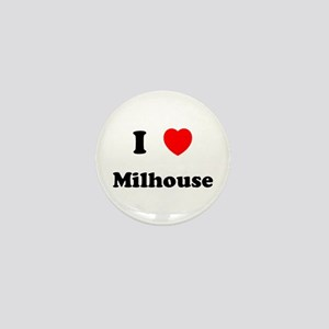 I Love Milhouse Mini Button