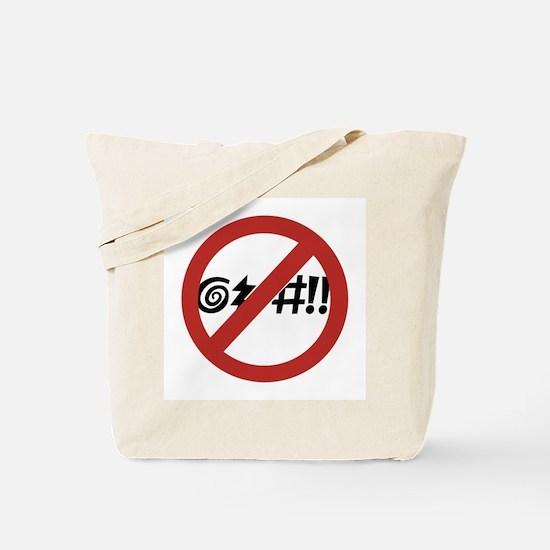No Cursing Allowed, Virginia Beach, VA Tote Bag