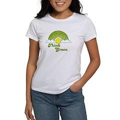 Think Green Women's T-Shirt