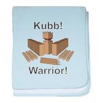 Kubb Warrior baby blanket