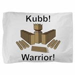Kubb Warrior Pillow Sham