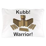 Kubb Warrior Pillow Case