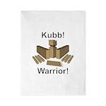 Kubb Warrior Twin Duvet Cover