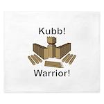 Kubb Warrior King Duvet