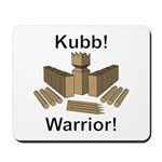 Kubb Warrior Mousepad