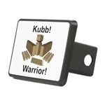 Kubb Warrior Rectangular Hitch Cover