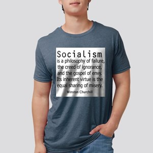 WINSTON CHURCHILL SOCIALISM T-Shirt
