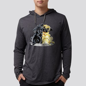 Black Fawn Pug Long Sleeve T-Shirt