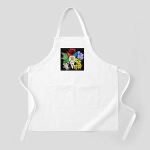 Eastern Star Floral Emblem - BBQ Apron