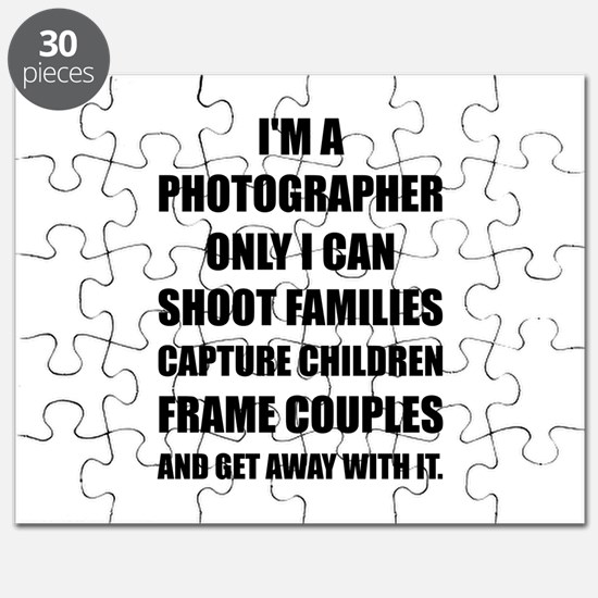 Photographer Shoot Capture Frame Puzzle