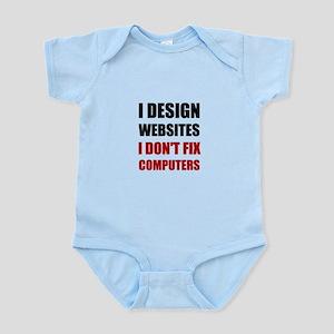Design Websites Not Fix Computers Body Suit