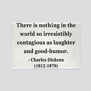 Charles Dickens 13 Rectangle Magnet