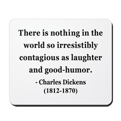 Charles Dickens 13 Mousepad