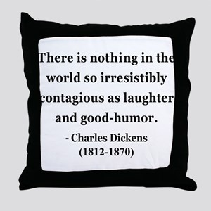 Charles Dickens 13 Throw Pillow
