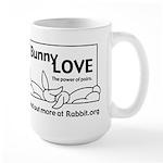 Love Somebunny Large Mug