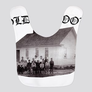 Old School Polyester Baby Bib