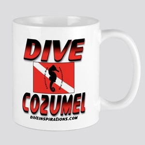 Dive Cozumel (red) Mug