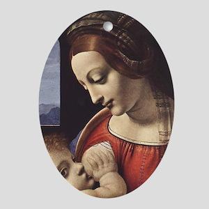 Madonna Litta - Oval Ornament