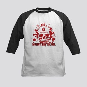 Mutiny's In The Air (Red) Kids Baseball Jersey