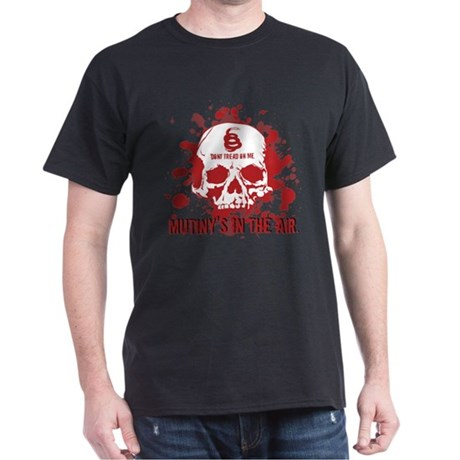 Mutiny's In The Air (Red) Dark T-Shirt