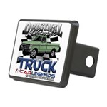 Green Truck Hitch Cover