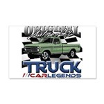 Green Truck Wall Decal