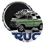 Green Truck Magnets